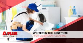 Winter Is the Best Time for Dryer Vent Cleaning